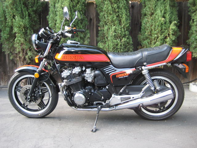 My 1981 Honda CB 900 F Supersport