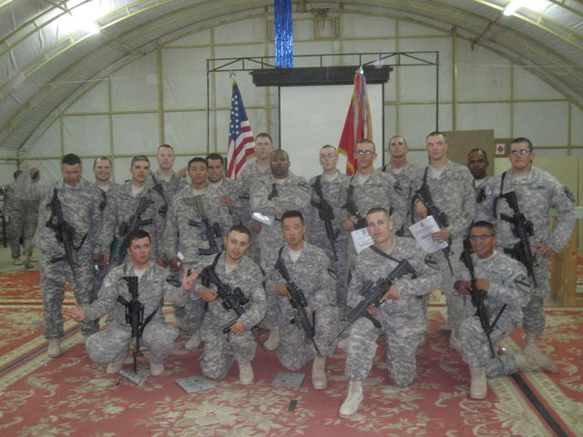 Best Platoon in the Army