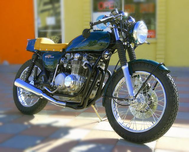 1973 Honda CB500 FOUR Cafe Racer