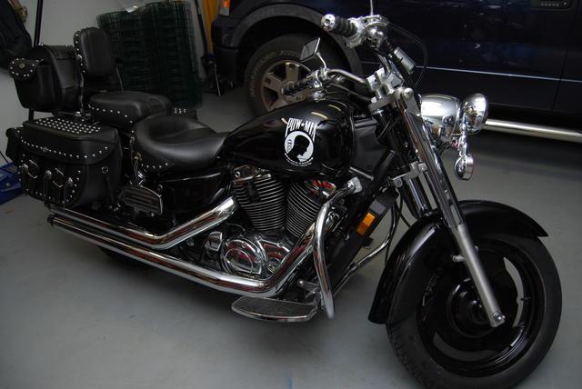 2004 Honda Sabre - POW/MIA Theme