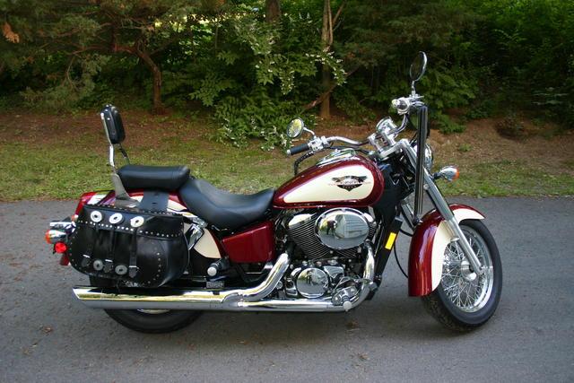 Honda shadow ace saddlebags